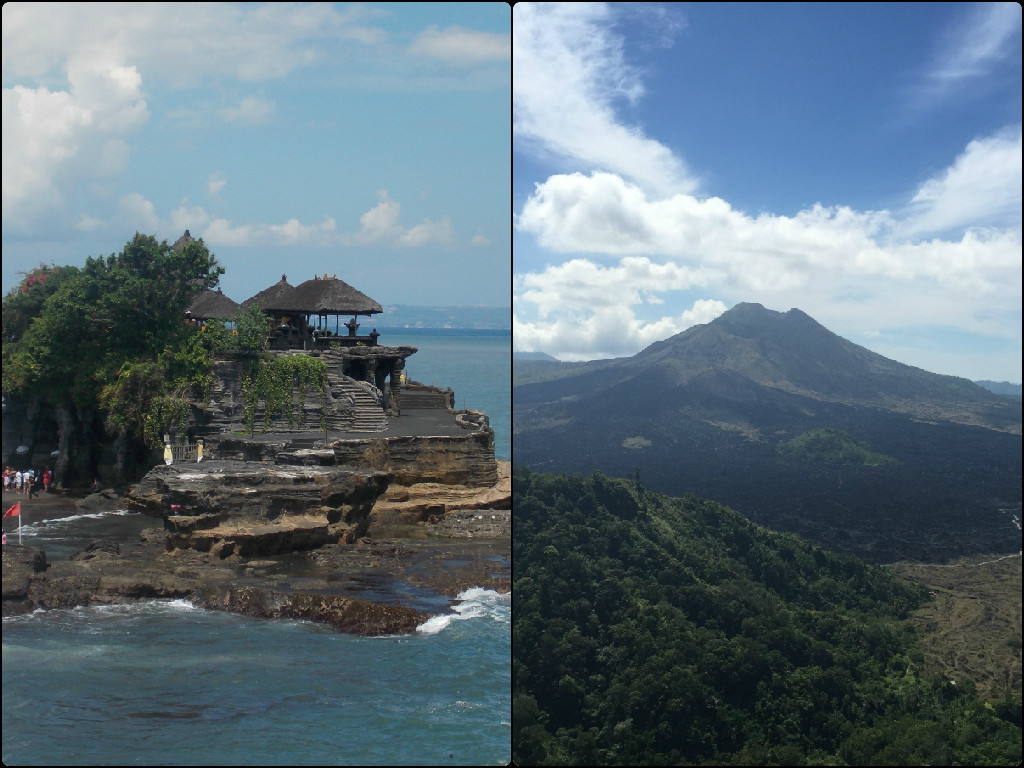 Tanah Lot and Kintamani - The other Bali