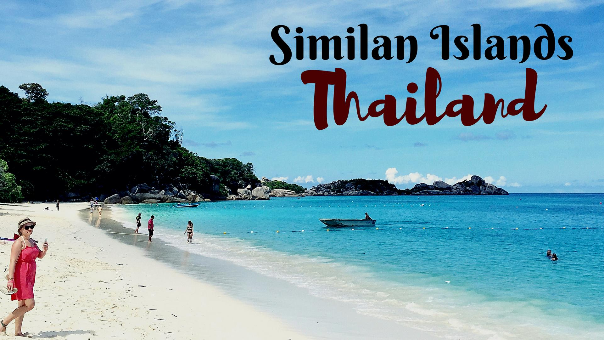 Similan Islands – Tranquil Hidden Gems in Thailand