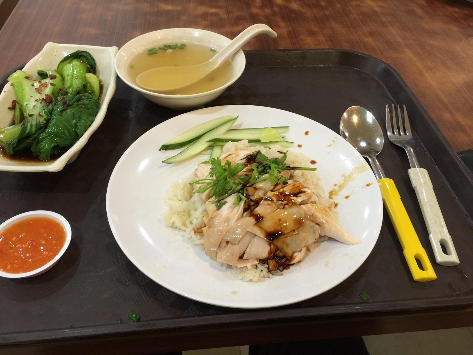 Chicken Rice, Singapore. Credit @ tamzexplores